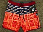 Hurley Board Shorts for Men Orange