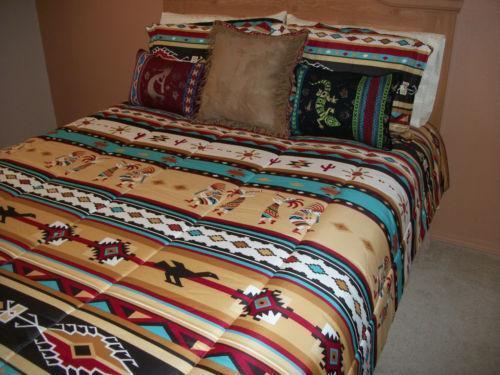 Log Cabin Quilt Bedding Sets