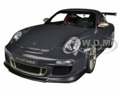 Porsche 911 (997) GT3 RS 3.8 GRAY 1/18 DIECAST MODEL CAR BY AUTOART 78142