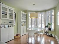 Outremont beautiful condo, all amenities, garage and locker incl