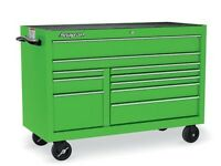 Snap on 10draw 53 inch green roll cab brand new