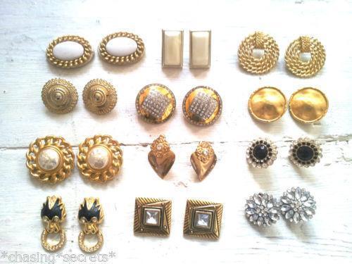 80s Earrings Ebay