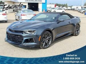 2019 Chevrolet Camaro ZL1 ZL1 Supercharged Htd/Cld Suede Leather