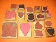 Rubber Stamp Lot