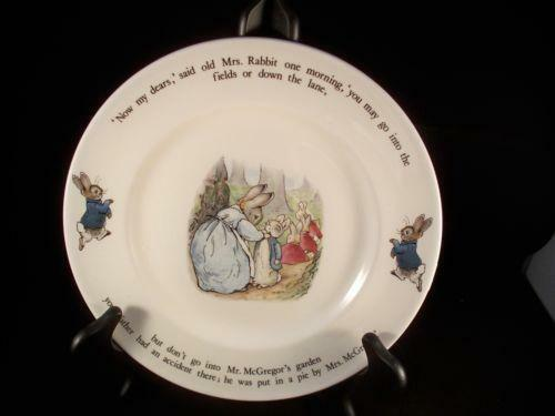 Peter Rabbit Plate Ebay