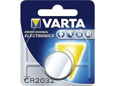 1 x Varta CR2032 3V Lithium Battery (Alarms, Watch, Remote, Car Remote Fob)