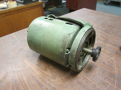 Ge Ac Motor 5k43mg3456 1hp 1725rpm Fr 56 230460v 3.21.6a Used