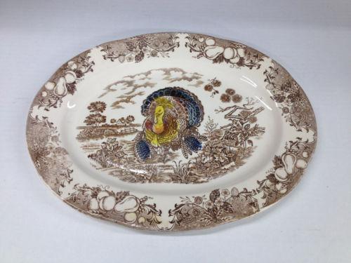 turkey platter japan ebay