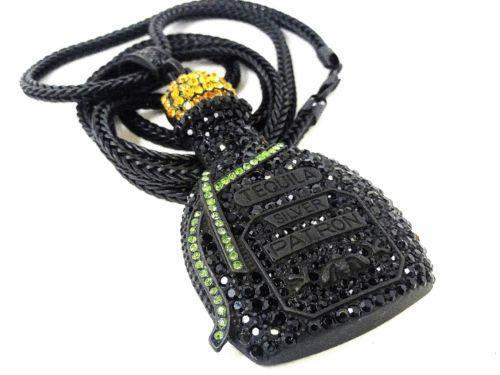 Mens Black Diamond Chain | eBay  Mens Black Diam...
