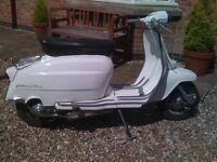 Lambretta LI125 - Beautiful Original Condition - All Italian