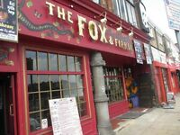 Pizza/ Sunday roast chef wanted Fox and Firkin Lewisham