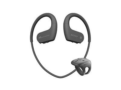 SONY Headphone Integrated Walkman W Series 16GB Black NW-WS625 B japan