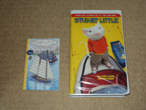 STUART LITTLE, VHS MOVIE, INCLUDES THE GREAT BOAT RACE BOOK