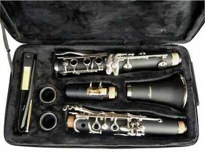 NEW BAND CLARINET Wood Finish.W/CASE.APPROVED+WARRANTY on Rummage