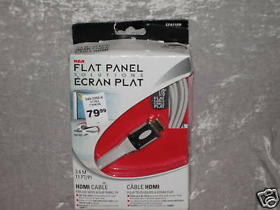 11 ft. HDMI Cable Flat Panel TV Compact Connect A/V NEW
