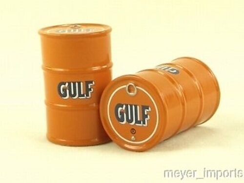 """Cargo-To-Go: """"G"""" Scale Gulf Oil Barrels - Layout Detail- Set of 5 Barrels"""