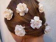 Ivory Wedding Hair Accessories