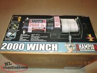 Champion 2000 lb winch Brand new in box