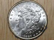 1887 P Morgan Silver Dollar