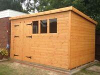 shed / workshop 12 x 8