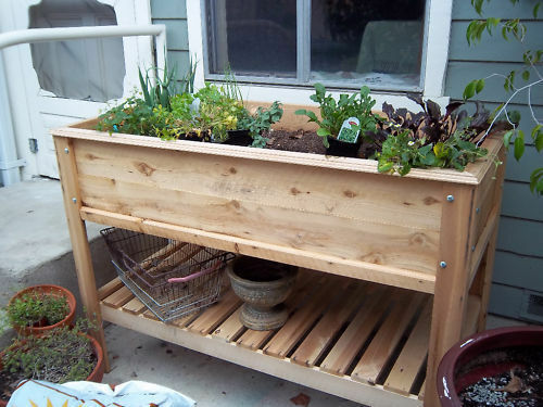 How to Build a Raised Garden Table eBay