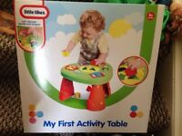 little tikes activity table