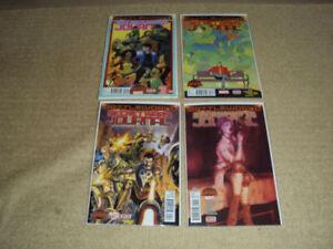 SECRET WARS JOURNAL #2, 3, 4, 5, MARVEL COMICS, FIRST PRINT, NM