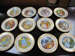 Franklin mint fairy tale plates