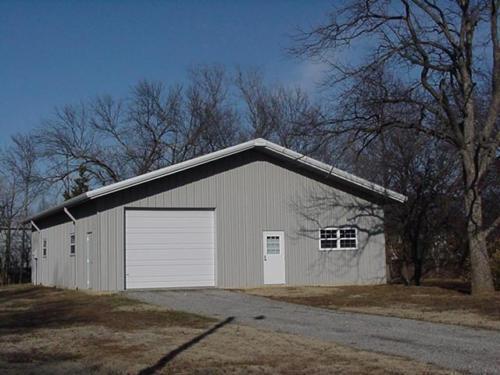 SIMPSON Steel Building 24x24 Garage Storage Kit Shop Metal Building