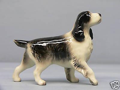 Retired Hagen Renaker Springer Spaniel Dog