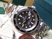 Vintage Rolex Submariner Red