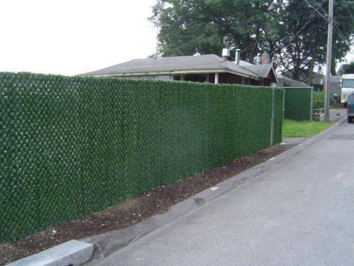 Chain Link Fence Privacy Slats Ebay