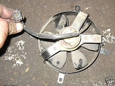 87 HONDA CH150 CH 150 ELITE ELECTRIC COOLING FAN ASSY