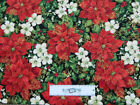 Floral Quilting Holiday/Christmas Craft Fabrics