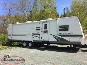 2008 30' Wildwood travel trailer