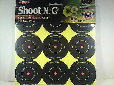 "Birchwood Casey Shoot N C Targets 2/"" round x 108"