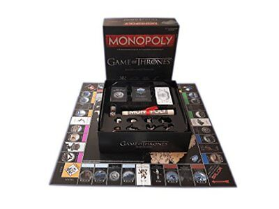 Game Of Thrones Monopoly Set di edicion coleccionista (Q3H)