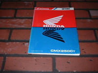 Honda CMX250C workshop manual