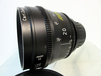 Arri Zeiss 20mm Ultra Prime Distagon T1.9 Lens Arriflex Feet Scale for sale  Chatsworth