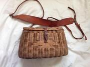 Wicker Fishing Basket