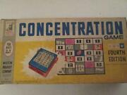Concentration Board Game