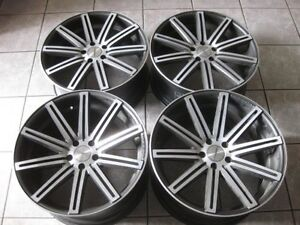 """Nice VOSSEN 20"""" staggered rims in excellent condition 5x114"""