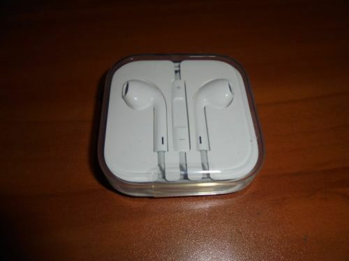 Original OEM Apple Brand Earphones earbuds w/ Remote & Mic f