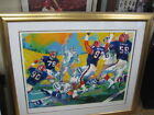 Leroy Neiman Football Art