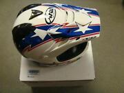 White Dirt Bike Helmet