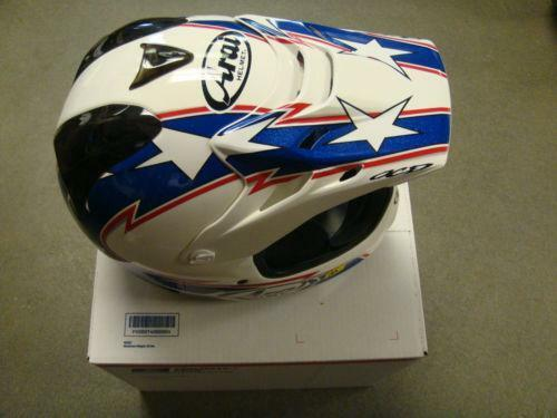 White Dirt Bike Helmet Ebay