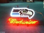 Bud Light Nfl Sign Ebay