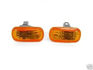 DEPO JDM Style Amber Fender Side Marker Lights For Honda / Acura Integra / RSX