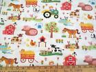 Farm Animal Fabric