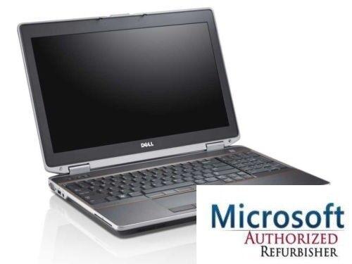 "Dell Latitude 15.6"" E6520 Laptop  i7  8G 250GB  Windows 10 PRO NVIDIA 1900 x1200"